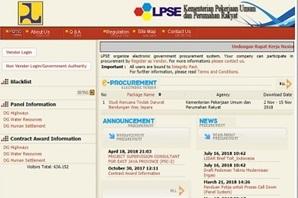 インドネシア国 公共事業・国民住宅省電子調達システム調査